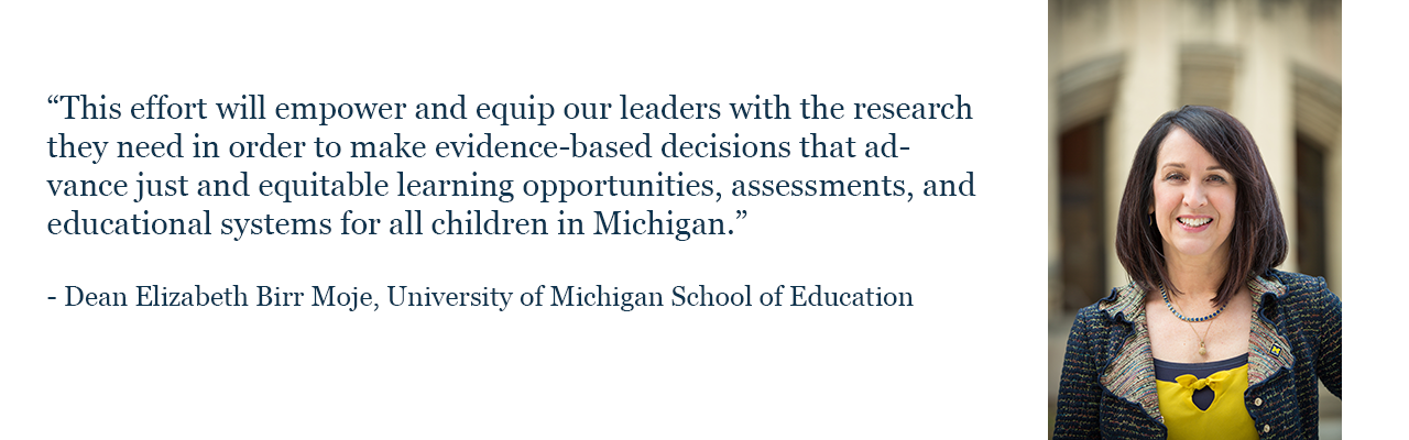 Dean Elizabeth Birr Moje, University of Michigan School of Education