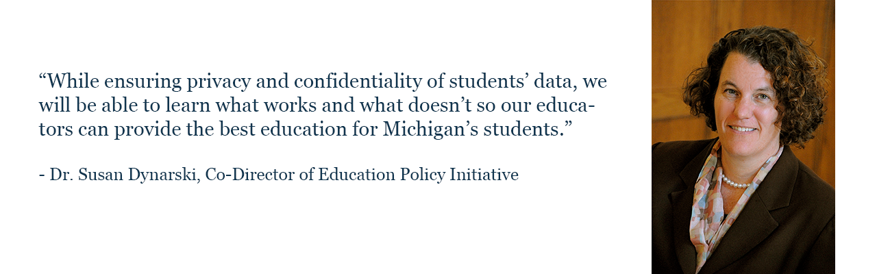 Dr. Susan Dynarski, Co-Director of Education Policy Initiative